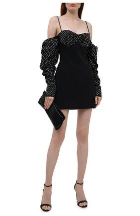 Женское платье DAVID KOMA черного цвета, арт. PF21DK14DA | Фото 2