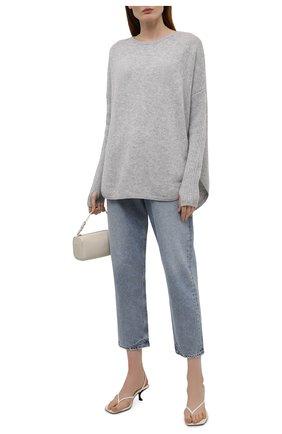 Женский кашемировый пуловер NOT SHY светло-серого цвета, арт. 3902051C   Фото 2