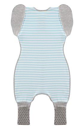 Детский спальный комбинезон LOVE TO DREAM голубого цвета, арт. L25 01 002 BLU L | Фото 2
