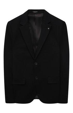 Детский пиджак ALESSANDRO BORELLI MILANO черного цвета, арт. JK21240T | Фото 1