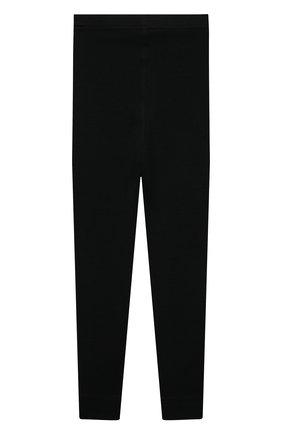 Детские шерстяные леггинсы NORVEG черного цвета, арт. 4SU003RU-002. | Фото 2