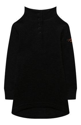 Детская шерстяной свитер NORVEG черного цвета, арт. 4TWPU2HLRU | Фото 1