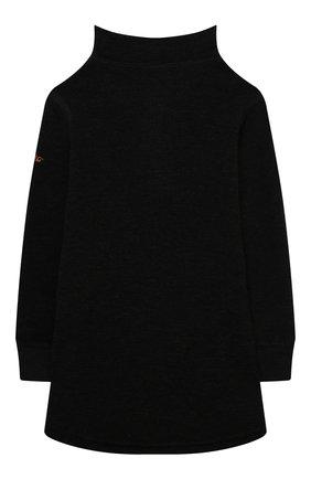 Детская шерстяной свитер NORVEG черного цвета, арт. 4TWPU2HLRU | Фото 2