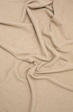 Кашемировый плед BRUNELLO CUCINELLI бежевого цвета, арт. MPLAB5320   Фото 2