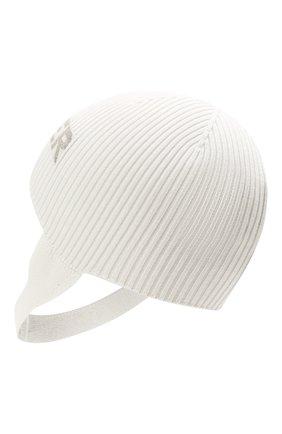 Детского хлопковая шапка MONCLER белого цвета, арт. G2-951-9Z714-00-V9217 | Фото 2