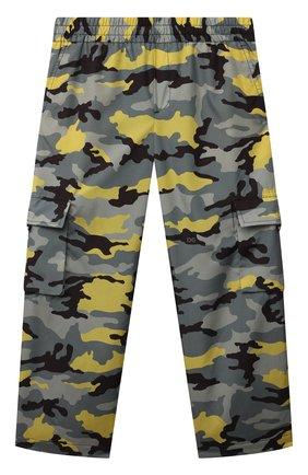 Детские брюки DOLCE & GABBANA хаки цвета, арт. L4JPDC/G7A3U/8-14   Фото 1
