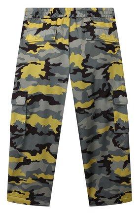Детские брюки DOLCE & GABBANA хаки цвета, арт. L4JPDC/G7A3U/8-14   Фото 2