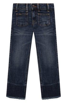 Детские джинсы POLO RALPH LAUREN синего цвета, арт. 311832766 | Фото 1