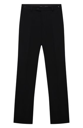 Детские брюки из вискозы ALESSANDRO BORELLI MILANO черного цвета, арт. Pant18T | Фото 1