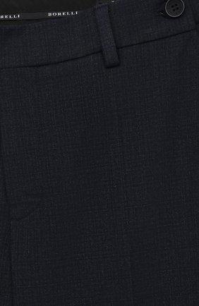 Детские брюки ALESSANDRO BORELLI MILANO серого цвета, арт. PANT22   Фото 3 (Материал внешний: Синтетический материал, Вискоза; Мальчики Кросс-КТ: Брюки-одежда; Ростовка одежда: 10 - 11 лет   140 - 146см, 12 лет   152 см, 16 лет   164 см, 7 лет   122 см, 8 лет   128 см, 9 лет   134 см)