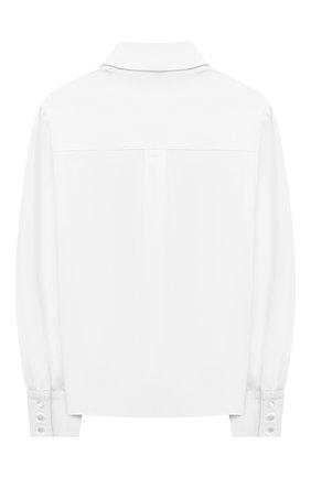 Детское хлопковая блузка ALESSANDRO BORELLI MILANO белого цвета, арт. SP2106 | Фото 2
