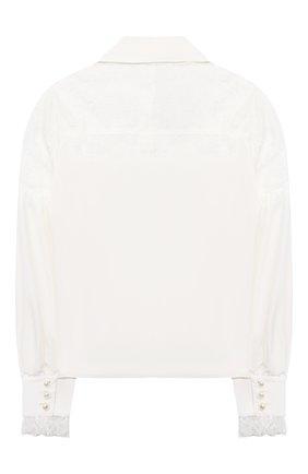 Детское блузка из вискозы ALESSANDRO BORELLI MILANO белого цвета, арт. SP2103 | Фото 2