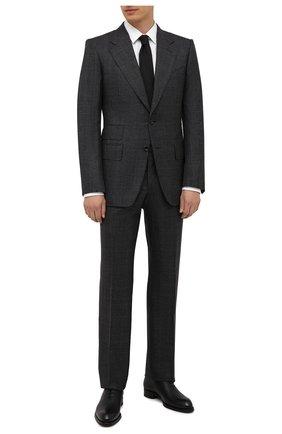 Мужской шерстяной костюм TOM FORD темно-серого цвета, арт. 222R55/21AA43 | Фото 1