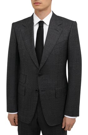 Мужской шерстяной костюм TOM FORD темно-серого цвета, арт. 222R55/21AA43 | Фото 2