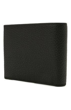 Мужской кожаное портмоне BOSS черного цвета, арт. 50441646 | Фото 2