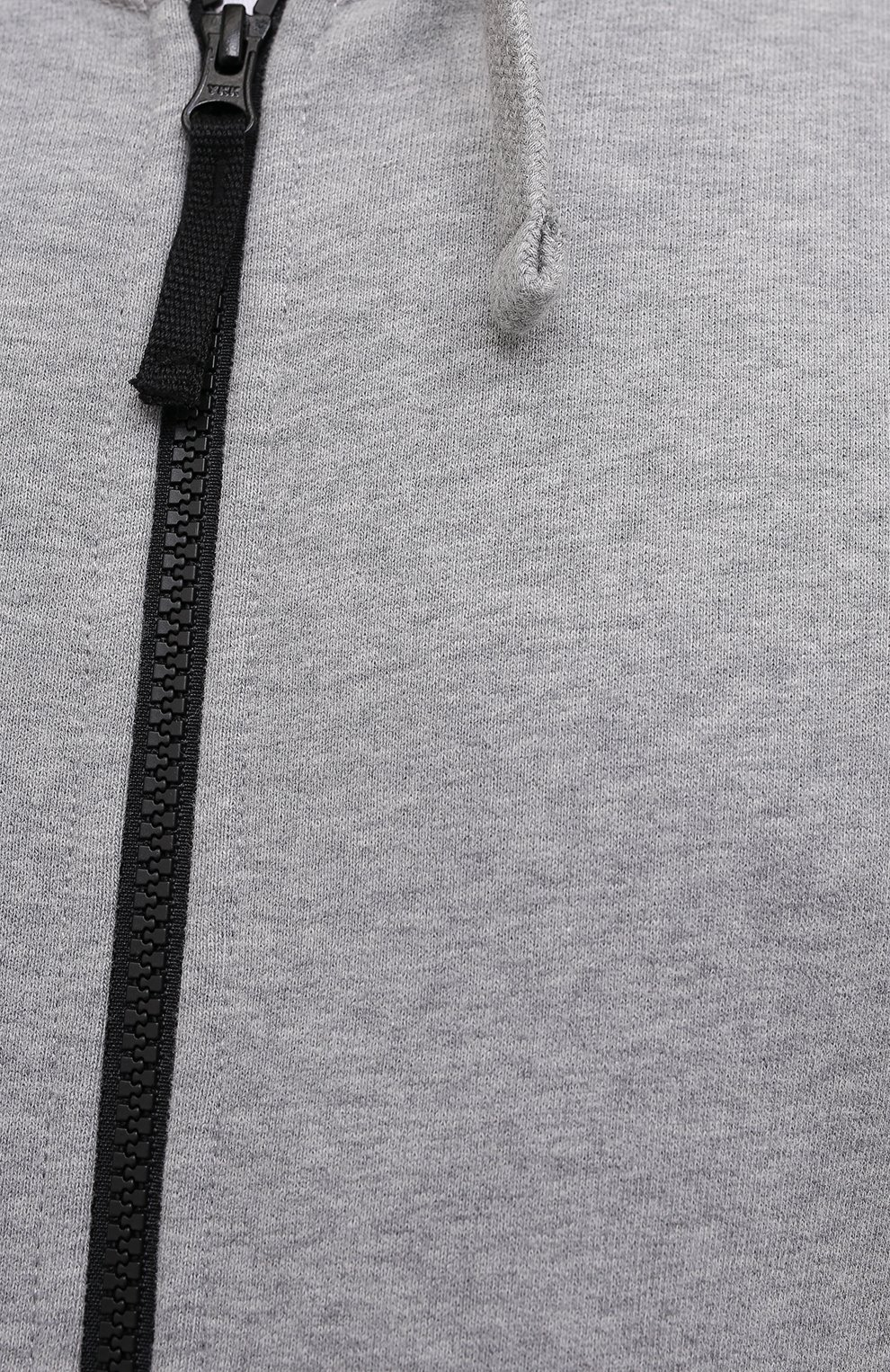 Мужской хлопковая толстовка STONE ISLAND светло-серого цвета, арт. 751564220 | Фото 5 (Рукава: Длинные; Мужское Кросс-КТ: Толстовка-одежда; Длина (для топов): Стандартные; Материал внешний: Хлопок; Стили: Спорт-шик)