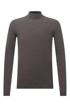 Мужской свитер из кашемира и шерсти RICK OWENS серого цвета, арт. RU02A5683/WSBR | Фото 1