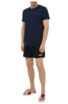 Мужские плавки-шорты VETEMENTS черного цвета, арт. MA52TR450B 1362 | Фото 2