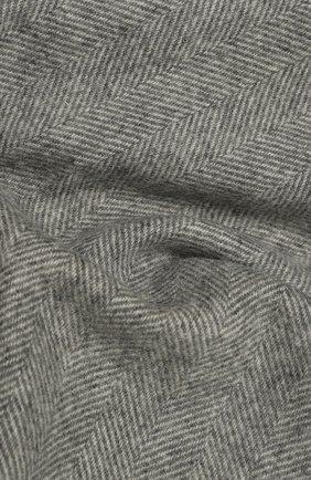 Мужской шерстяной шарф ETON серого цвета, арт. A000 30132   Фото 2 (Материал: Шерсть; Кросс-КТ: шерсть)