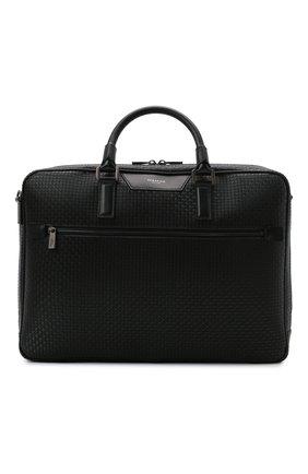 Мужская сумка для ноутбука stepan SERAPIAN черного цвета, арт. SRSTPMLL692940I | Фото 1