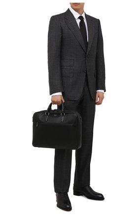 Мужская сумка для ноутбука stepan SERAPIAN черного цвета, арт. SRSTPMLL692940I | Фото 2