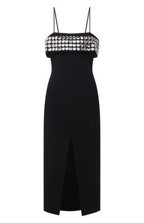 Женское платье DAVID KOMA черного цвета, арт. PF21DK25D | Фото 1