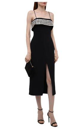 Женское платье DAVID KOMA черного цвета, арт. PF21DK25D | Фото 2