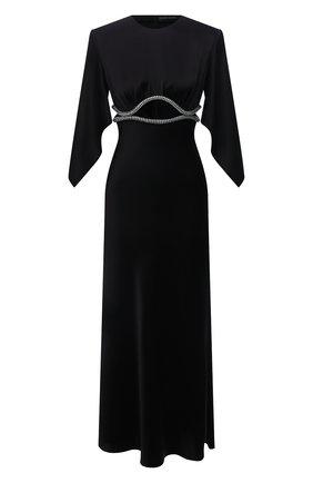 Женское платье DAVID KOMA черного цвета, арт. PF21DK23D | Фото 1