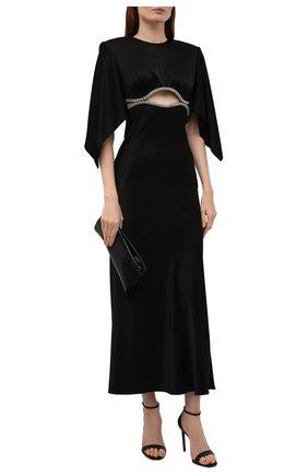 Женское платье DAVID KOMA черного цвета, арт. PF21DK23D | Фото 2