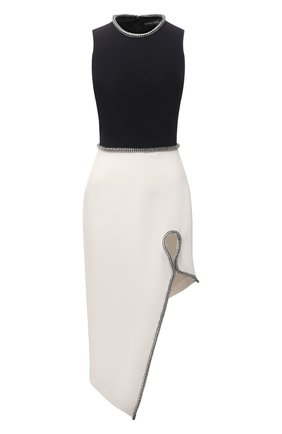 Женское платье DAVID KOMA черно-белого цвета, арт. PF21DK15D | Фото 1