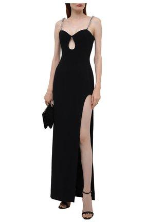 Женское платье DAVID KOMA черного цвета, арт. PF21DK01DL | Фото 2