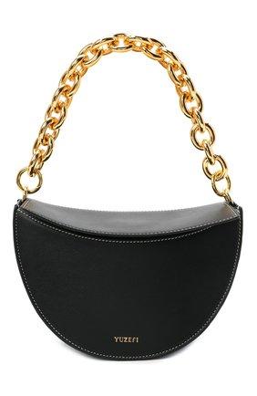 Женская сумка doris YUZEFI черного цвета, арт. YUZIC0-HB-D0-00   Фото 1