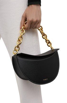Женская сумка doris YUZEFI черного цвета, арт. YUZIC0-HB-D0-00   Фото 2