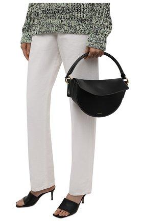 Женская сумка dip YUZEFI черного цвета, арт. YUZIC0-HB-DI-00   Фото 2