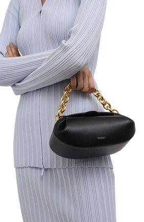 Женская сумка dinner roll YUZEFI черного цвета, арт. YUZIC0-HB-DR2-00   Фото 2