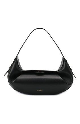 Женская сумка fortune cookie YUZEFI черного цвета, арт. YUZIC0-HB-FC-00   Фото 1
