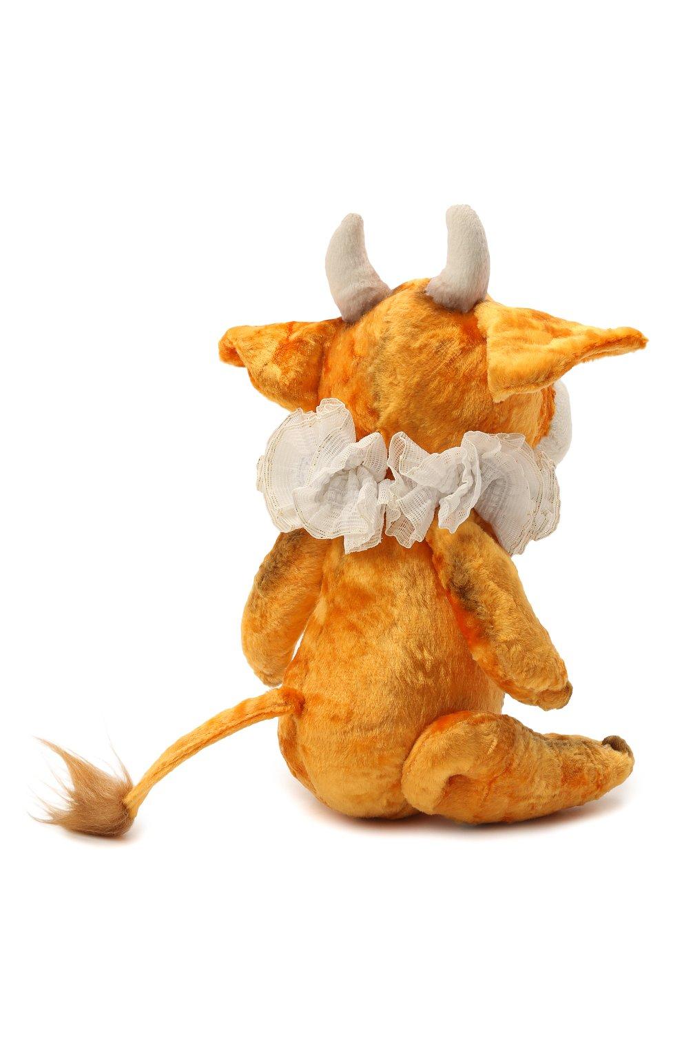 Детского игрушка бычок тедди CAROLON желтого цвета, арт. 2-01491   Фото 2
