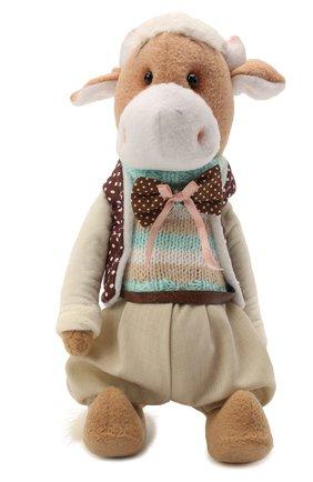 Детского игрушка бычок  CAROLON бежевого цвета, арт. Ц-0435/151220   Фото 1