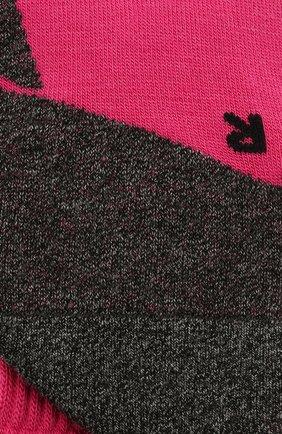 Детские утепленные носки active warm FALKE розового цвета, арт. 10450 | Фото 2 (Материал: Текстиль, Синтетический материал)