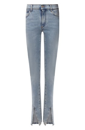 Женские джинсы THE ATTICO синего цвета, арт. 213WCP50/D019 | Фото 1