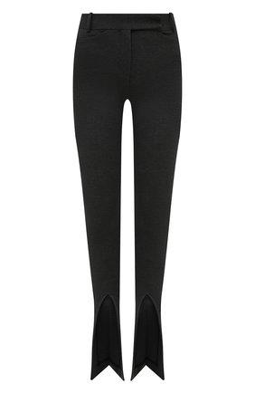 Женские брюки из вискозы THE ATTICO серого цвета, арт. 213WCP42/V027 | Фото 1
