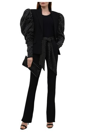 Женские брюки DAVID KOMA черного цвета, арт. PF21DK39TR | Фото 2