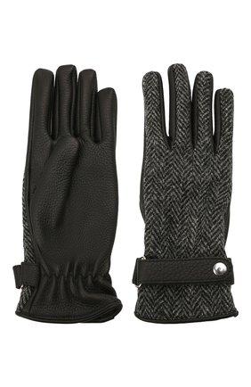 Женские кожаные перчатки MAISON MARGIELA черного цвета, арт. S51TS0051/SY1569 | Фото 2