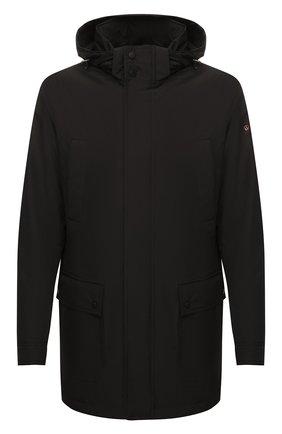 Мужская утепленная куртка PAUL&SHARK черного цвета, арт. 11312002/DF | Фото 1