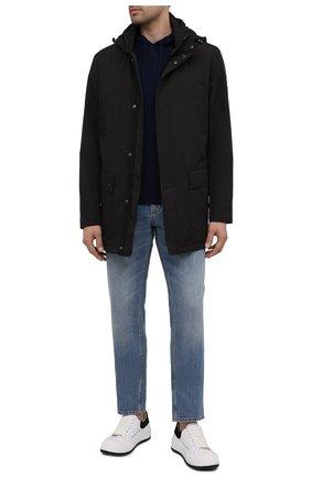 Мужская утепленная куртка PAUL&SHARK черного цвета, арт. 11312002/DF | Фото 2