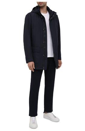 Мужская утепленная куртка PAUL&SHARK темно-синего цвета, арт. 11312002/DF | Фото 2
