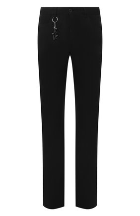 Мужские брюки PAUL&SHARK черного цвета, арт. 11314015/HS1   Фото 1 (Материал внешний: Хлопок; Длина (брюки, джинсы): Стандартные; Случай: Повседневный; Стили: Кэжуэл)