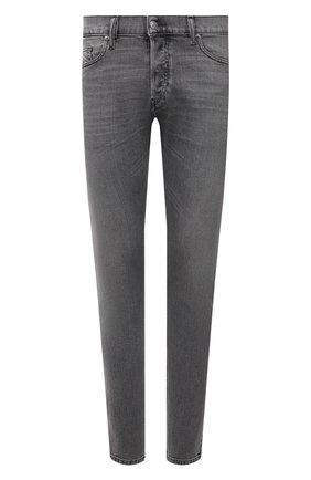 Мужские джинсы DIESEL серого цвета, арт. 00SID9/09A10 | Фото 1
