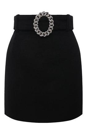 Женская юбка GIUSEPPE DI MORABITO черного цвета, арт. PF21062SK-107 | Фото 1