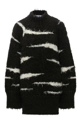 Женский свитер THE ATTICO хаки цвета, арт. 213WCK27/A009 | Фото 1